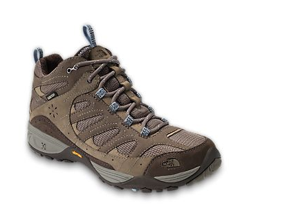 A sturdy pair of hiking boots